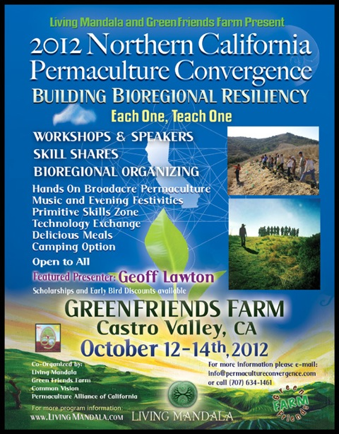 2012 Northern California Permaculture Convention